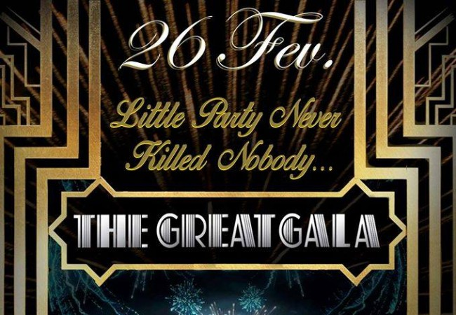 Gala de fin d'anné – 26 Février 2015 : « The Great Gala » by Bacch'us