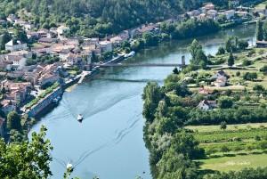 La ville de Douelle