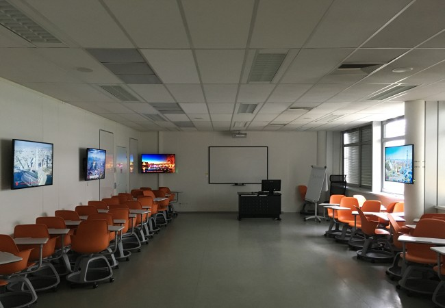 The new interactive room