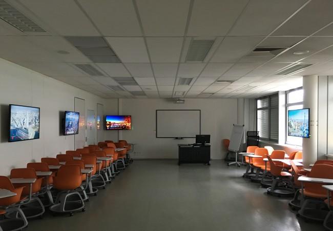 La salle interactive d'Entiore