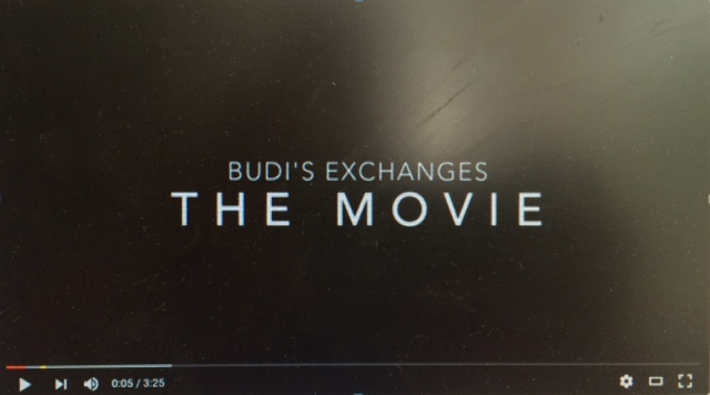 BUDI'S EXCHANGE VIDEO